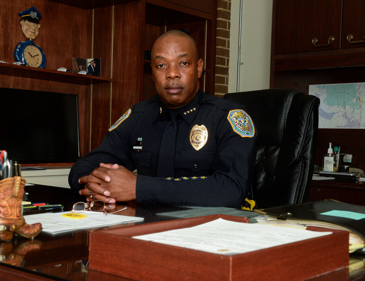 Police Chief Nate Allen
