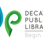 Logotipo de la Biblioteca Pública de Decatur