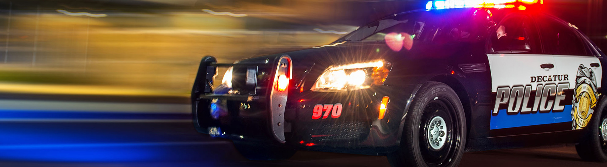 Crucero de la policía