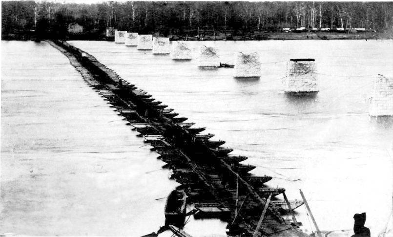 May 1864 - Tennessee River Pontoon Bridge
