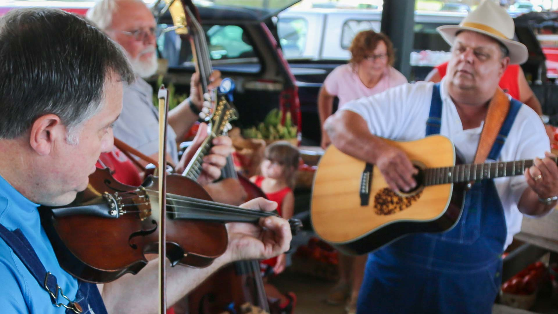 Decatur-Morgan County Farmers Market Music