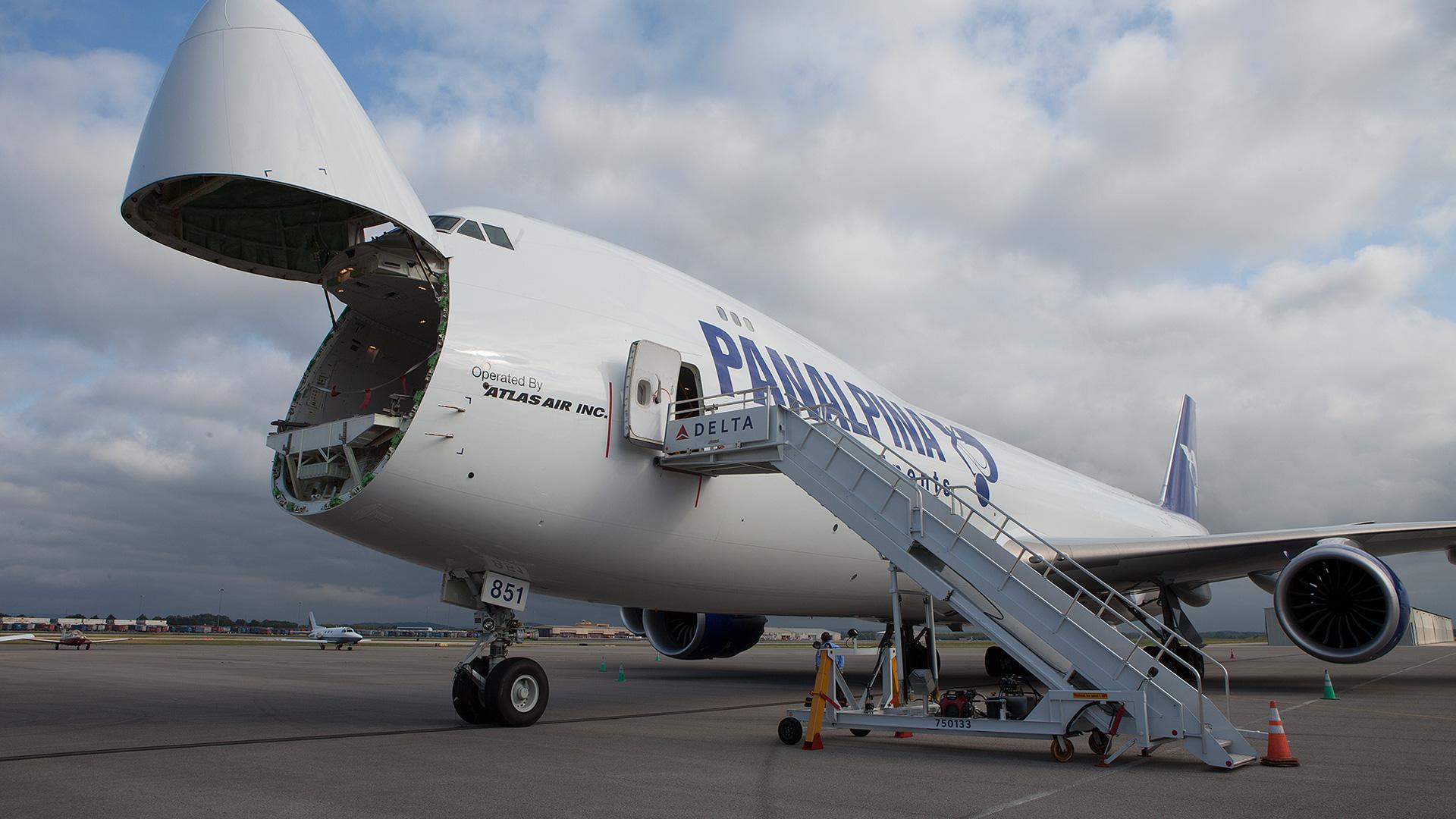 Panalpina Cargo Plane