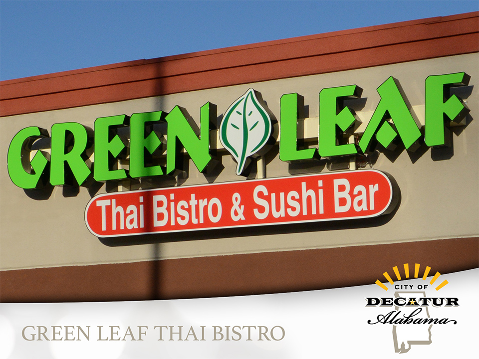 State of the City 2017 - Green Leaf Thai Bistro