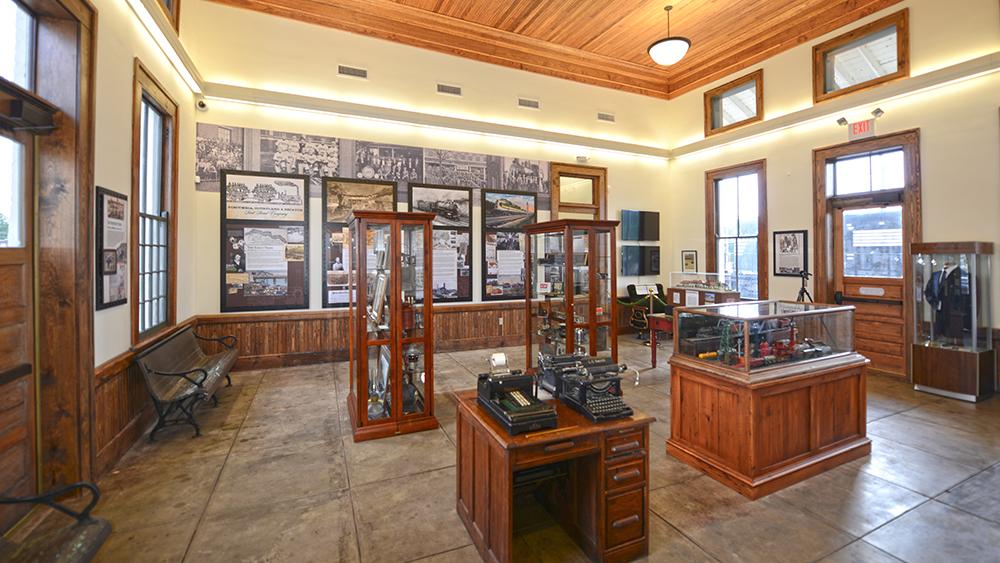 Railroad Museum Interior
