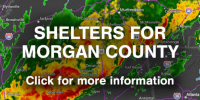Shelters for Morgan County